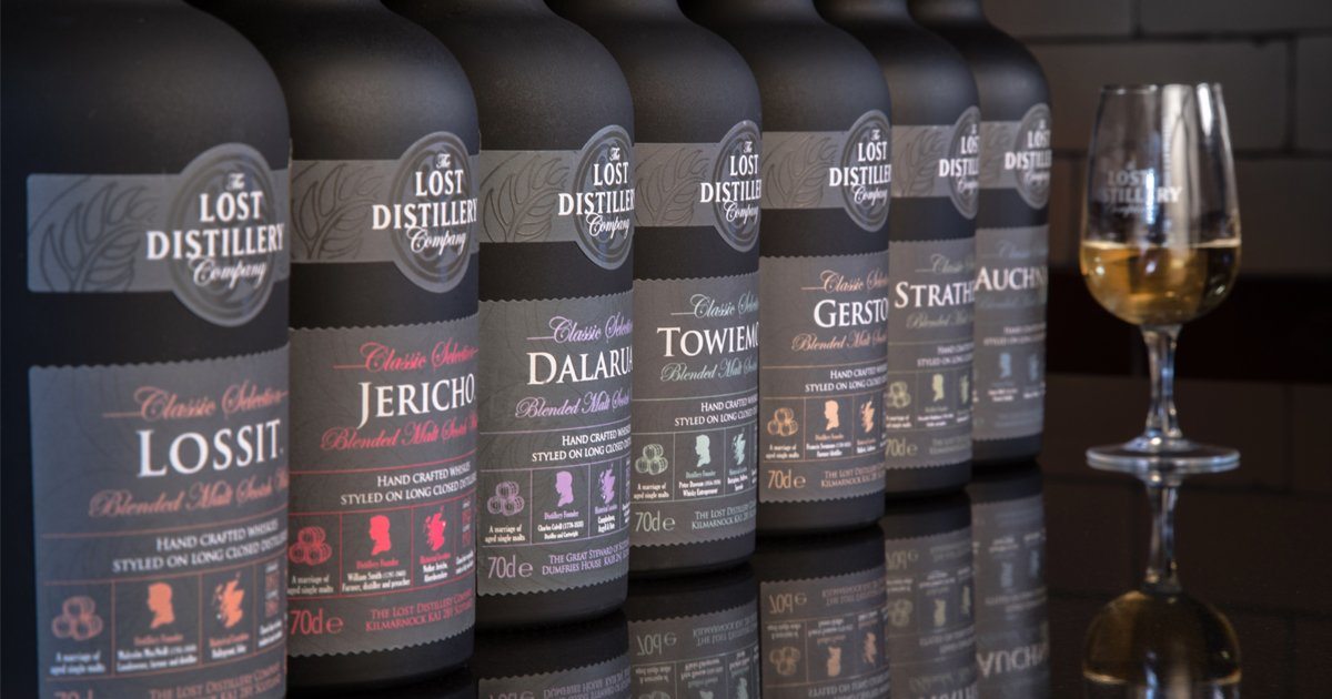 The Lost Distillery Company Classic Selection
