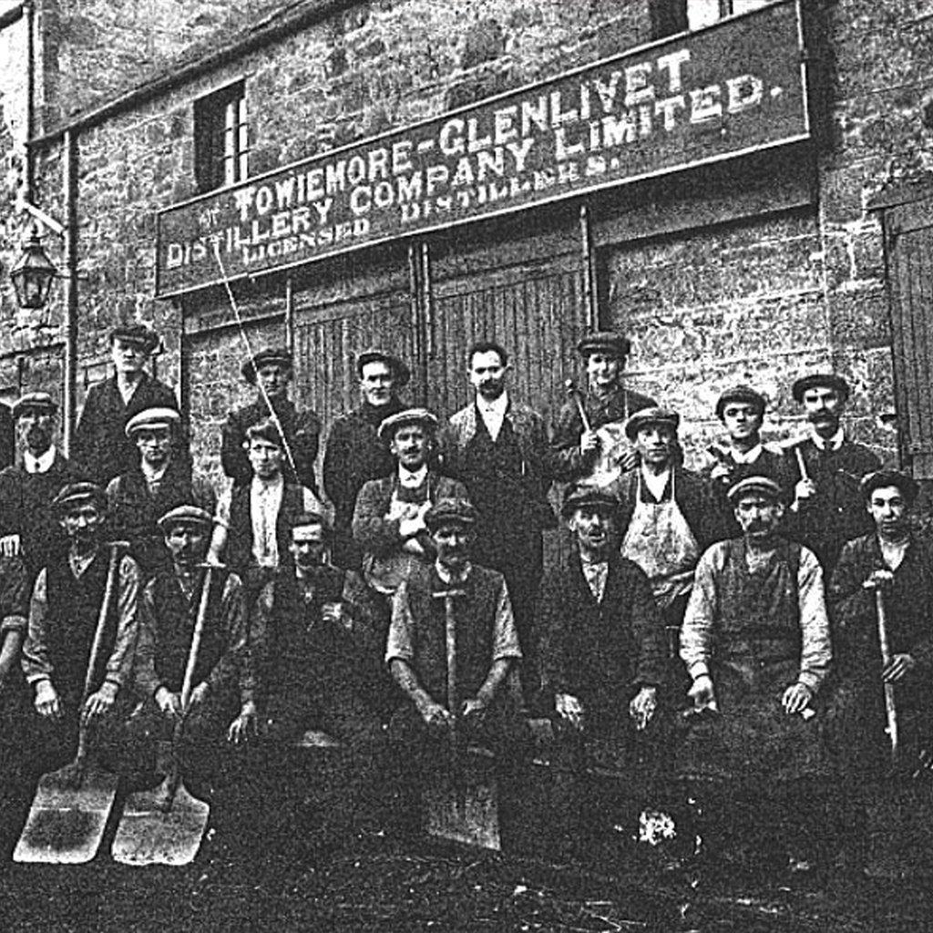 Towiemore Distillery Workers